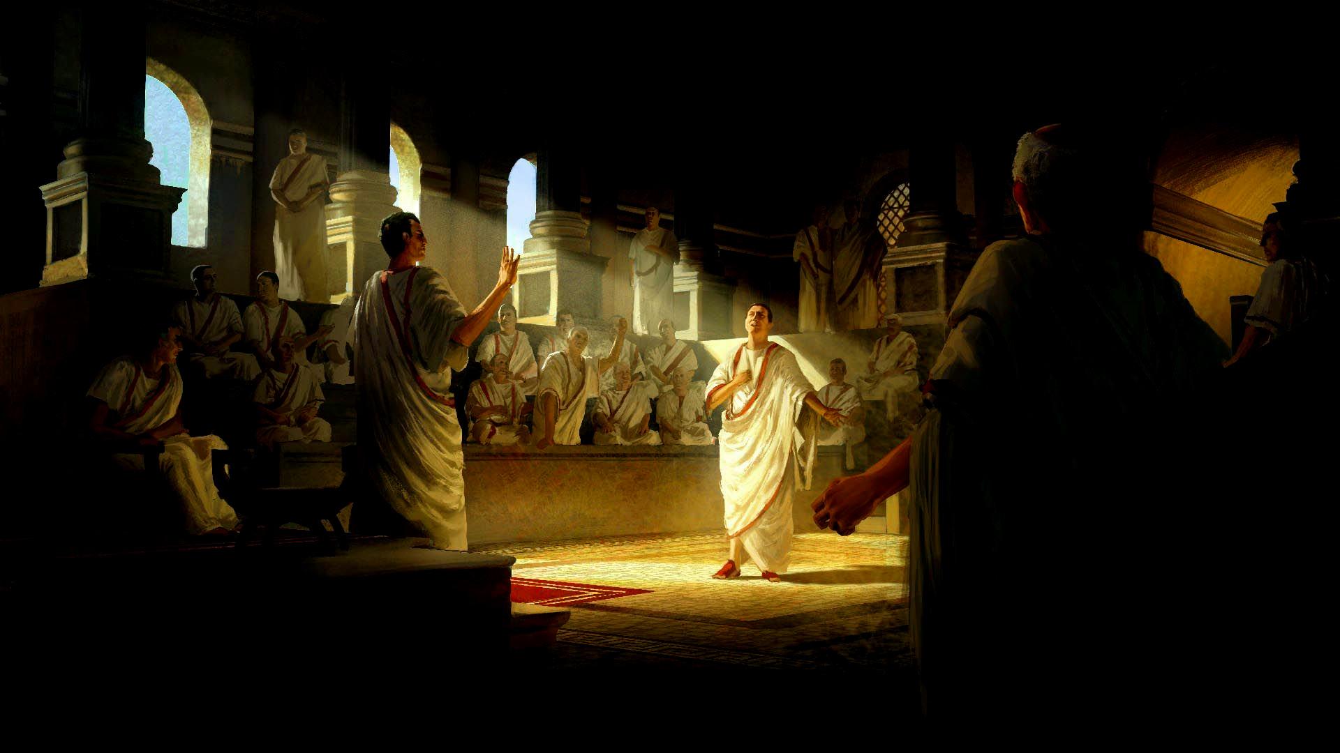 Senado del imperio romano